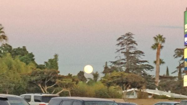 ABC7 viewer Isha Rajput sent us this photo of the blue moon in Garden Grove.