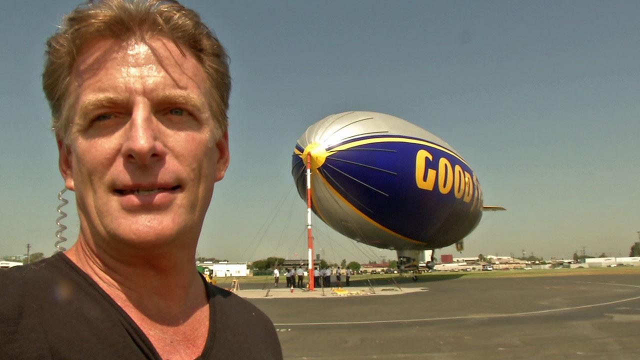 ABC7 anchor Phillip Palmer got a chance to ride the iconic blimp, which is steeped in history reaching back to the 1930s when Goodyear built airships for the Navy.