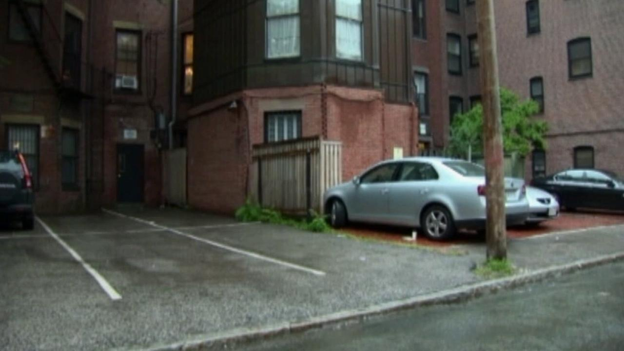 A woman in Boston paid $560,000 for two parking spaces near her home on Thursday, June 13, 2013.