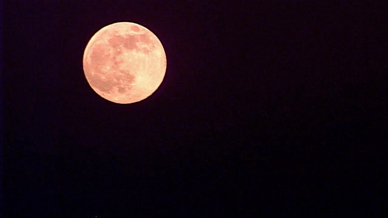 The supermoon shines above Southern California in this June 2013 photo.