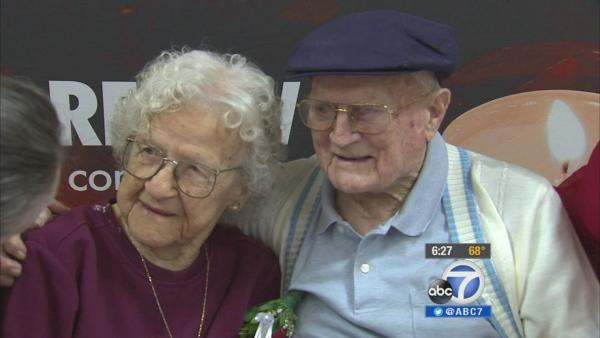 Burbank couple celebrates 82 yrs of marriage