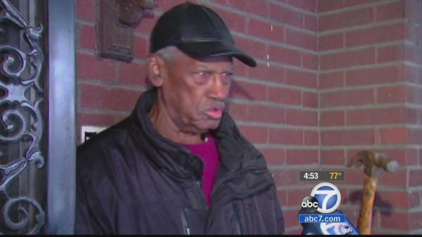 Elderly man fights off burglar with hammer