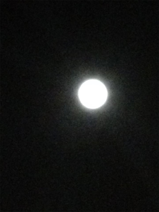 ABC7 viewer Norma Angelica Valdivia sent us this photo of the blue moon in Mia Loma, Calif.  When You Witness breaking news, or even something extraordinary, send pictures and video to video@myabc7.com, or send them to @abc7 on Twitter or our ABC7 Facebook page. <span class=meta>(ABC7 viewer Norma Angelica Valdivia)</span>