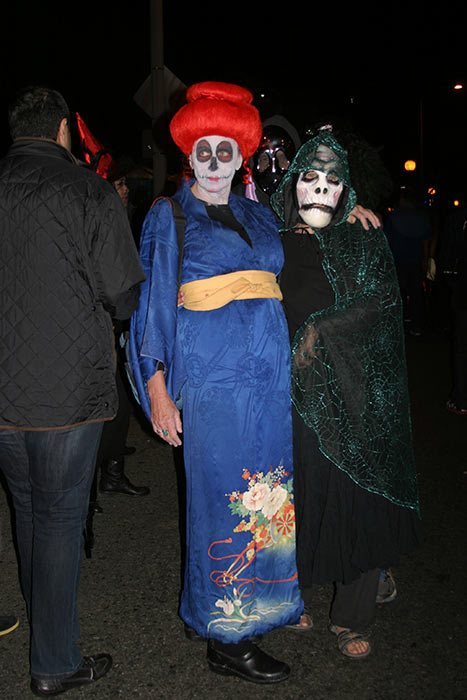 "<div class=""meta ""><span class=""caption-text "">Cathy Busby dressed up as a dead geisha during the West Hollywood Halloween Costume Carnaval on Thursday, Oct. 31, 2013. (ABC7)</span></div>"