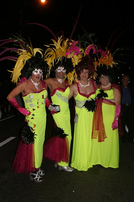 "<div class=""meta ""><span class=""caption-text "">Tony, Jay, Vincent and Robert dressed up as the four seasons during the West Hollywood Halloween Costume Carnaval on Thursday, Oct. 31, 2013. (ABC7)</span></div>"