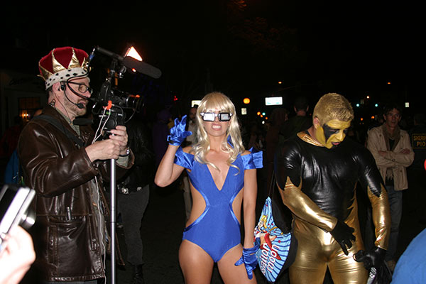 "<div class=""meta ""><span class=""caption-text "">Rosemary Martinez dressed up as Lady Gaga during the West Hollywood Halloween Costume Carnaval on Thursday, Oct. 31, 2013. (ABC7)</span></div>"