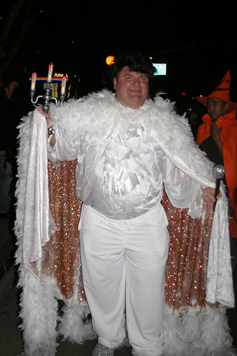 "<div class=""meta ""><span class=""caption-text "">Tom Lavoie dressed up as Liberace during the West Hollywood Halloween Costume Carnaval on Thursday, Oct. 31, 2013. (ABC7)</span></div>"