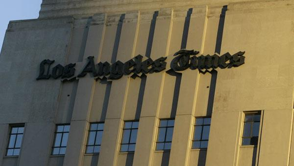 Tribune Co. is owner of The Los Angeles Times, The Chicago Tribune, nine other dailies and 23 television stations.