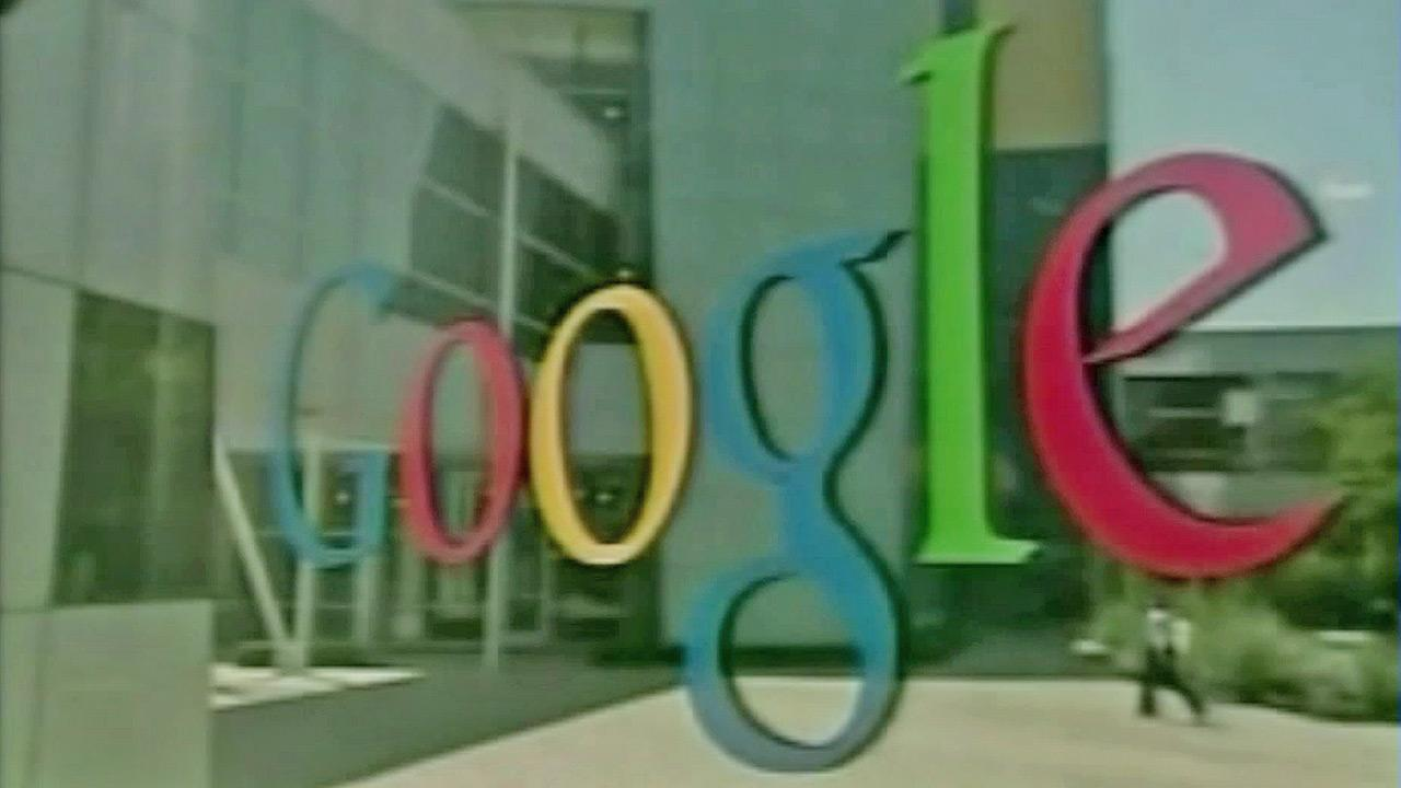A Google Inc. sign is seen in this undated file photo.