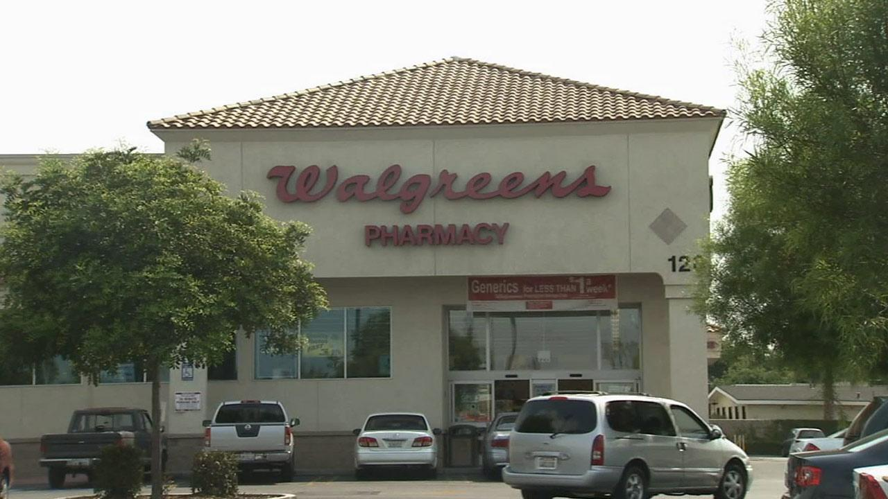 A Southern California Walgreens store is shown in this undated file photo.