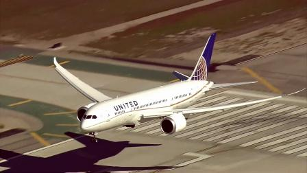A Boeing 787 Dreamliner is seen landing at Los Angeles International Airport in this undated file photo.