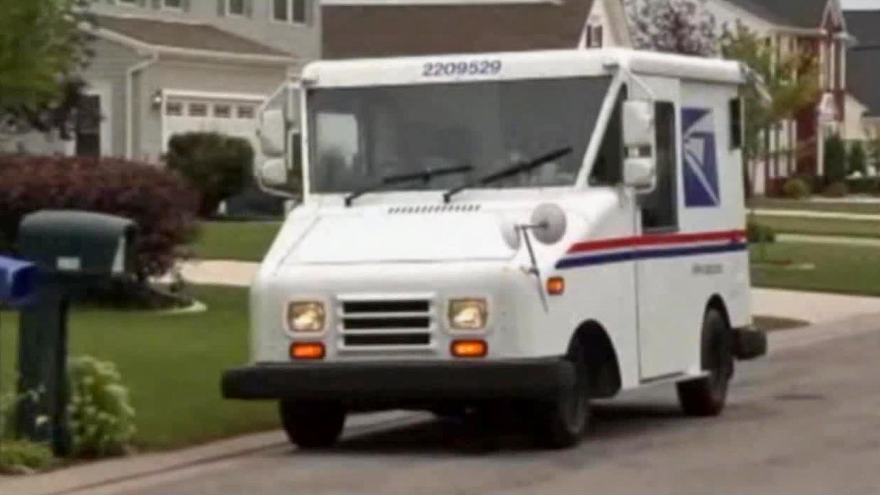A U.S. Postal Service vehicle is seen in this undated photo.