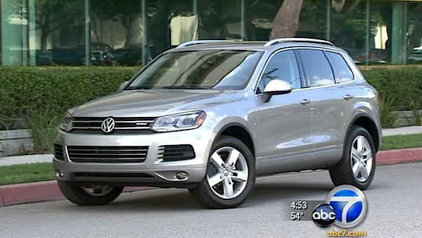 VW Touareg hybrid more than fuel efficient