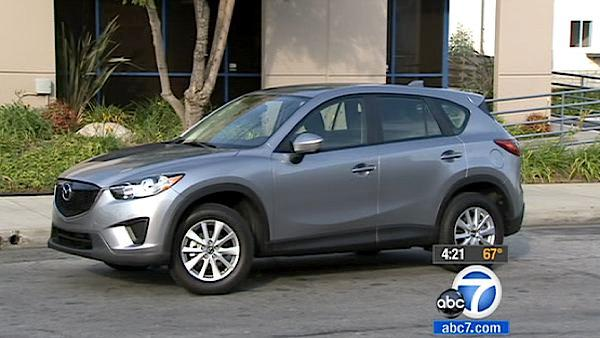Mazda enters crossover SUV segment with CX-5