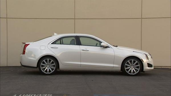 2013 Cadillac ATS offers turbo four-cylinder