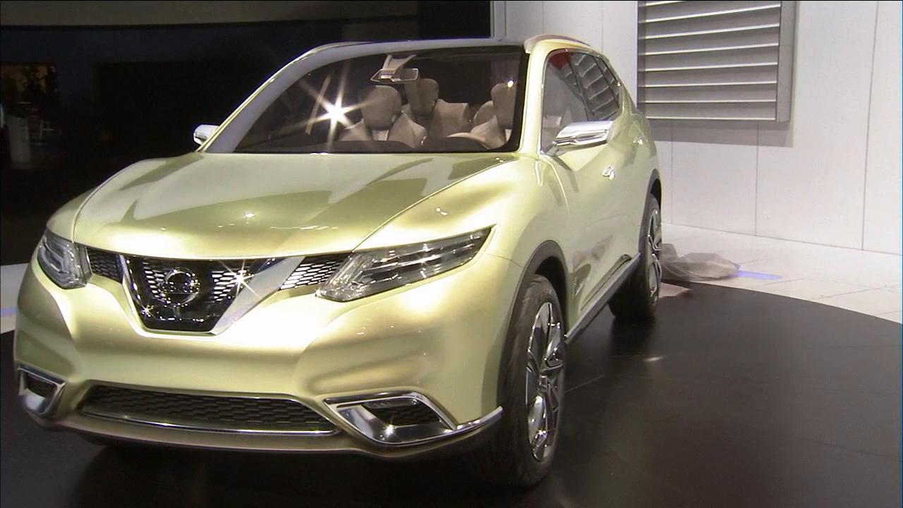 The Nissan Hi-Cross concept  is seen at the 2012 Los Angeles Auto Show on Wednesday, Nov. 28, 2012.