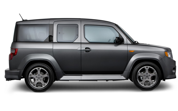 The Honda Element made it on Forbes&#39; Ugliest Cars of 2010 list. Forbes came up with the list by consulting with auto experts from Consumer Reports, NADAguides and Autoline Daily. <span class=meta>(honda.com)</span>