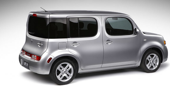 The Nissan Cube made it on Forbes' Ugliest Cars o