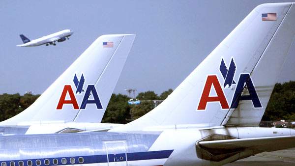 American Airlines ranked No. 11 in an airline quality study sponsored by Purdue University and Wichita State University. The study was based on Department of Transportation data regarding on-time arrivals, mishandled baggage, bumpings due to overbooking and consumer complaints. <span class=meta>(KABC)</span>