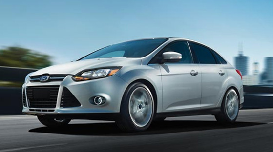 The 2012 Ford Focus was one of six small cars that earned a Top Safety Pick rating. Thirteen different small cars were crash-tested by the  Insurance Institute for Highway Safety. Testers evaluated front, side, rollover, and rear-impact crashes to see how well the cars would do. A Top Safety Pick car means that it received a good rating in all four of the tests.  <span class=meta>(ford.com)</span>