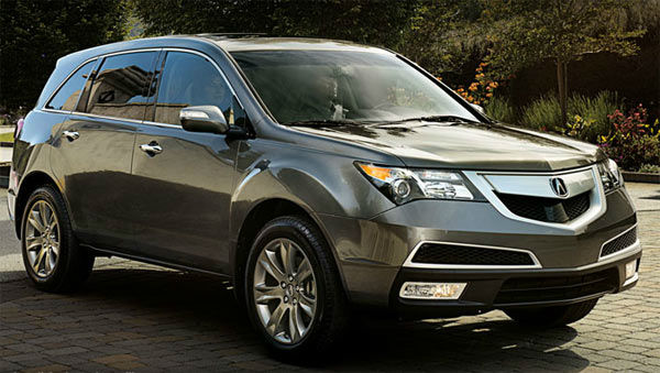 The 2012 Acura MDX won in the Luxury Midsize SUV...