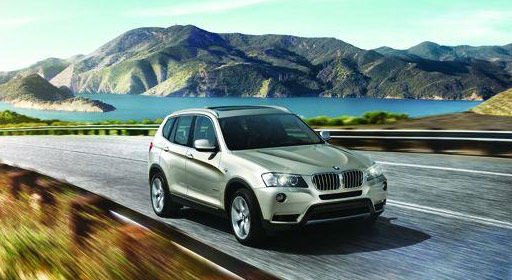 The 2012 BMW X3 won in the Luxury Compact SUV...