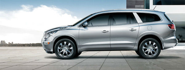 The 2012 Buick Enclave won in the Midsize SUV...
