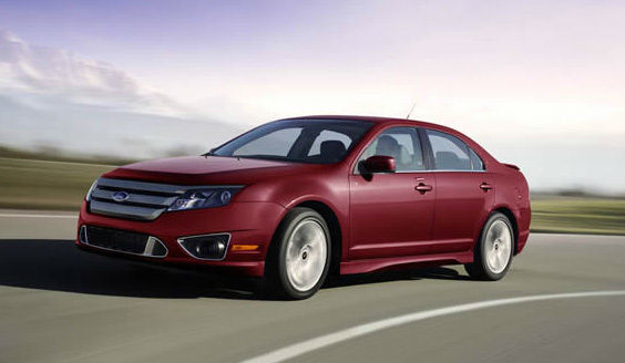 The 2012 Ford Fusion won in the Hybrid Car...