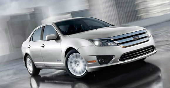 The 2012 Ford Fusion Hybrid won in the Hybrid...