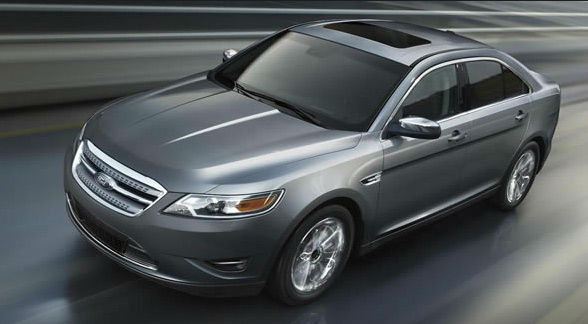 The 2012 Ford Taurus won  in the Full-Size Car category for the 2012 U.S. News Best Cars for Families Awards. <span class=meta>(ford.com)</span>