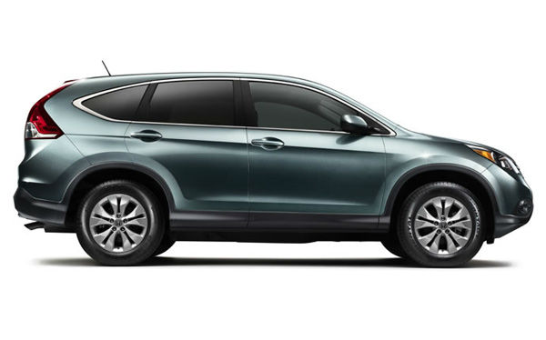 The 2012 Honda CR-V won in the Affordable...
