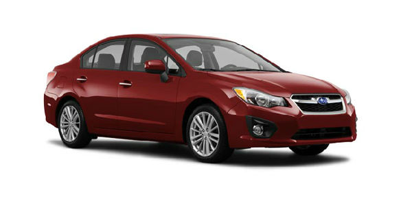 The 2012  Subaru Impreza won in the Compact Car category for the 2012 U.S. News Best Cars for Families Awards. <span class=meta>(subaru.com)</span>