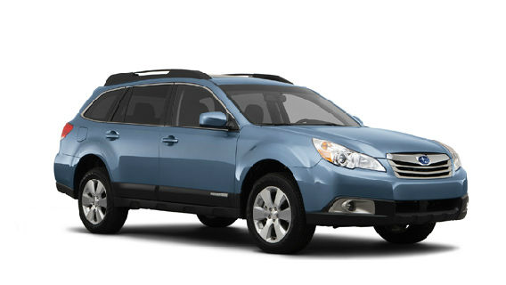 The 2012 Subaru Outback won in the Wagon category for the 2012 U.S. News Best Cars for Families Awards. <span class=meta>(subaru.com)</span>