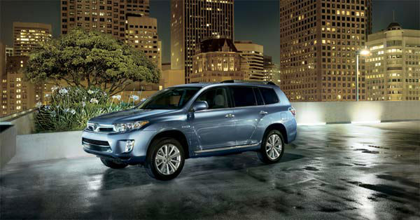 The 2012 Toyota Highlander Hybrid won in the Hybrid SUV category for the 2012 U.S. News Best Cars for Families Awards. <span class=meta>(toyota.com)</span>