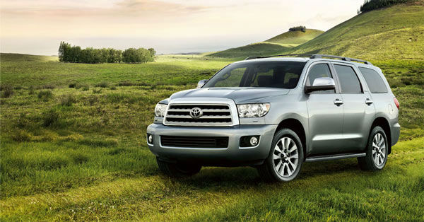 The 2012 Toyota Sequoia won in the Affordable...