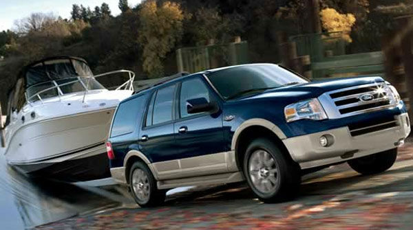 The Ford Expedition was tied as the 12th worst vehicle for the environment. The American Council for an Energy-Efficient Economy gave the SUV 23 out of 100 points. By comparison the ACEEE&#39;s most energy efficient vehicle, the Mitsubishi i-MIEV, received 58 <span class=meta>(Ford website)</span>