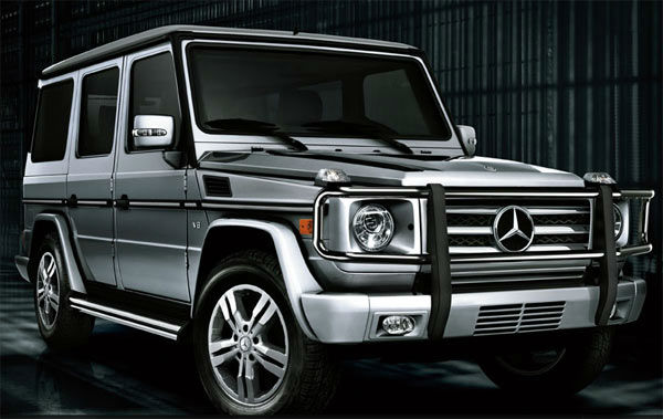 The Mercedes-Benz G550 was tied as the 11th worst vehicle for the environment. The American Council for an Energy-Efficient Economy gave the SUV 22 out of 100 points. By comparison the ACEEE&#39;s most energy efficient vehicle, the Mitsubishi i-MIEV, received 58 out of 100 points. &#39;Motoramic&#39; says between its un-aerodynamic boxy shape and wind-resisting vertical windshield, the four-wheel-drive gets 15&#47;12 mpg highway&#47;city. <span class=meta>(Mercedes website)</span>