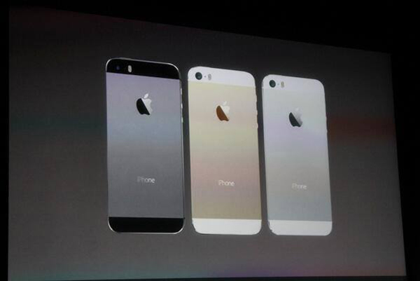 The iPhone 5S was unveiled