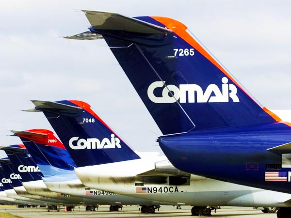 Comair ranked No. 14 in an airline quality study...