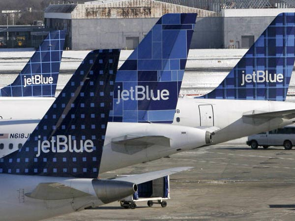 JetBlue Airways ranked No. 3 in an airline quality study sponsored by Purdue University and Wichita State University. The study was based on Department of Transportation data regarding on-time arrivals, mishandled baggage, bumpings due to overbooking and consumer complaints. <span class=meta>(KABC)</span>