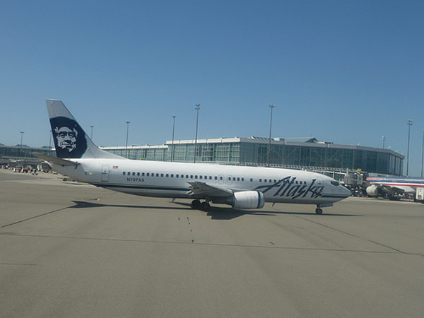 Alaska Airlines won the