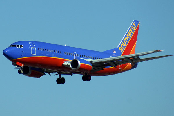 Southwest Airlines ranked No. 5 in an airline...