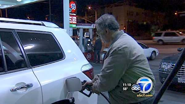 Pain at the pump: Gas reaches 2-year high