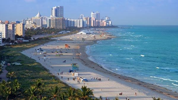 Miami, Fla. was ranked No. 5 in a list of the best cities in America to find love. The list was put out by The Daily Beast website.