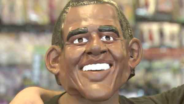 Another popular mask for Halloween this season is President Barack Obama.