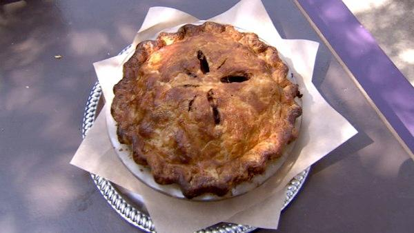 'I think people get really excited when they see pie, especially when it's made from scratch,' said Jenny Park of Trails Cafe.