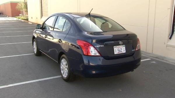 The Versa is a very roomy car, and even has a pretty sleek design.