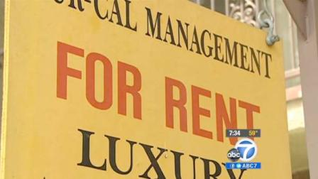 A For Rent sign is shown in this undated file photo.
