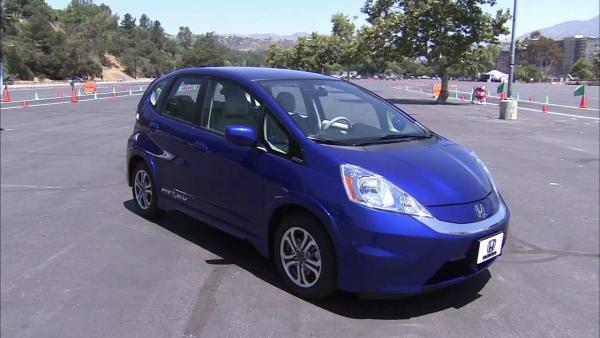 Honda launches Fit EV electric vehicle