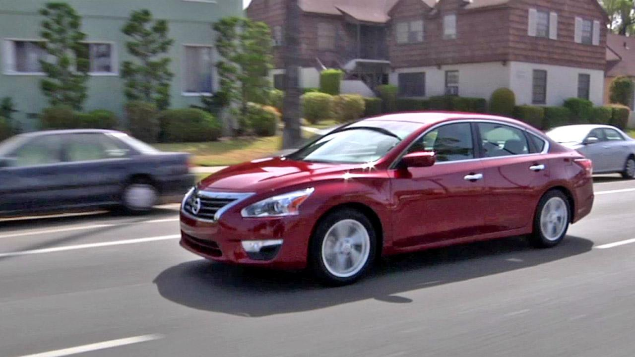 The 2013 Nissan Altima.